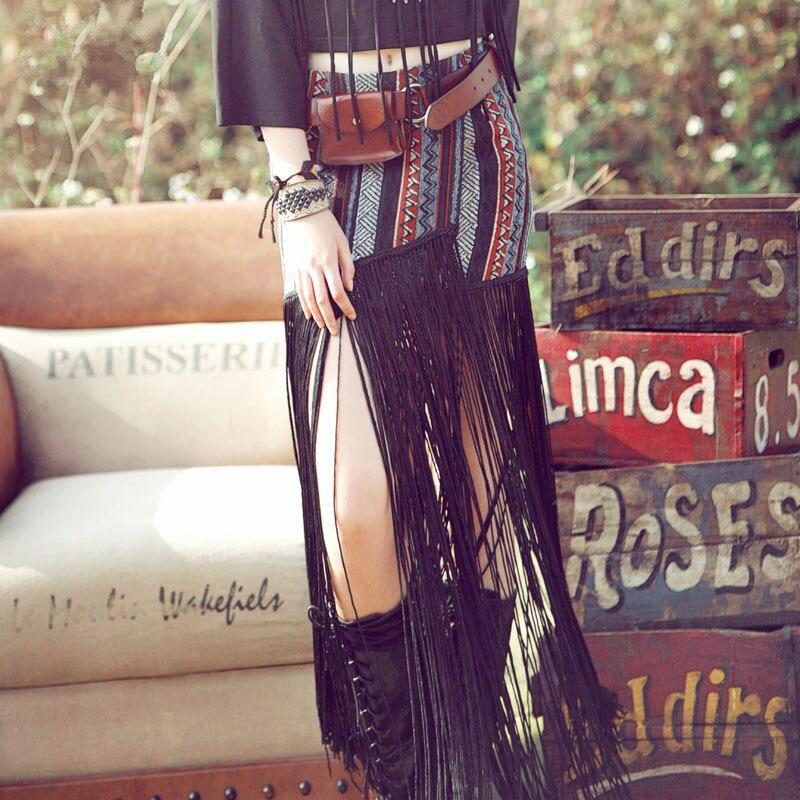 Marque Aporie Vintage National Tout Longues Comme Qualité Haute Jupe Gypsy Jupes Gland Personnalité Nouveauté Tendance allumette Buste Style qRwxp5RnXf