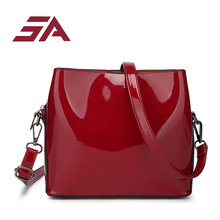 Bags for women 2018 luxury designer red Handbags Famous Brand Lady s  Lacquered bags female Shoulder Sac bc2380dd7ebed