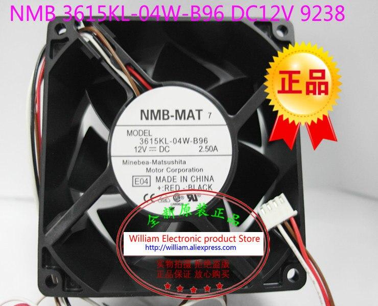 New Original NMB 3615KL-04W-B96 E04 12V 2.50A 92*92*38MM for Dell GX280 280 P2780 Computer cooling fan
