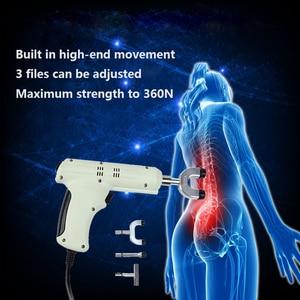 Image 5 - Wervelkolom Chiropractie 4 Heads chiropractie aanpassen instrument/Elektrische Correctie Gun Activator Massager/Impuls richter