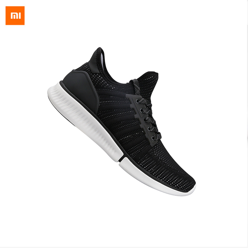 Prix pour En stock xiaomi mijia chaussure intelligente à la mode haute bonne valeur conception remplaçable smart chip étanche ip67 téléphone app contrôle