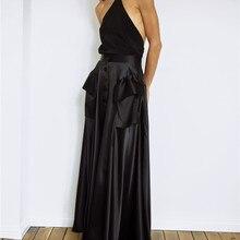 Топ на одно плечо с открытой спиной, Сексуальная футболка с асиметрическим рисунком, топы с бретельками, тонкие элегантные черные летние женские вечерние майки высокого качества для женщин