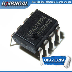 HJXRHGAL IC Chip Op Amp Double-Channel-Amplifier OPA2132PA Audio Original New 5PCS DIP-8