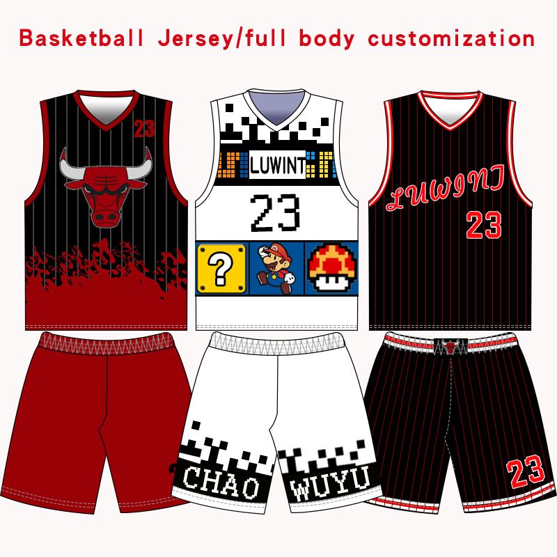 d8703b40e DIY Kids&Adult Private custom design basketball jersey Printing your basketball  team jersey