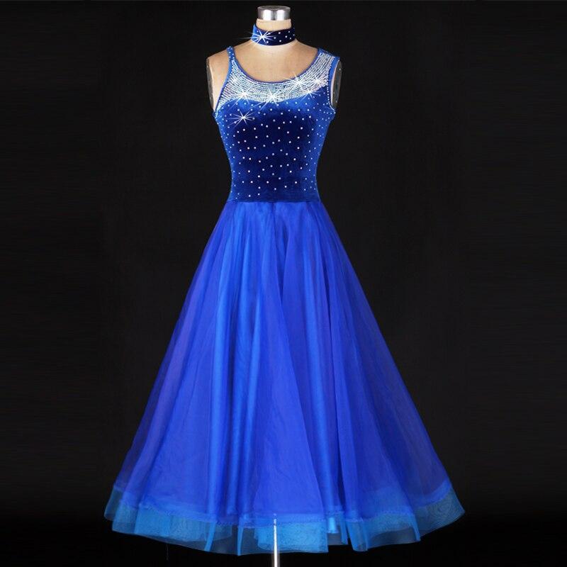 2018 standard ballroom dress ballroom dance competition dresses samba waltz tango gypsy skirt women