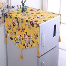 Towel Refrigerator-Cover Cloth Dust-Proof-Cover Janeyu Single-Door Double-Open Modern