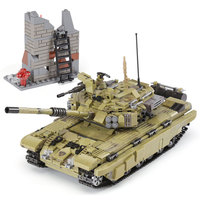 XINGBAO 06015 Genuine 1386Pcs Military Series The Scorpio Tiger Tank Set Building Blocks Bricks Toys Educational Christmas Gifts