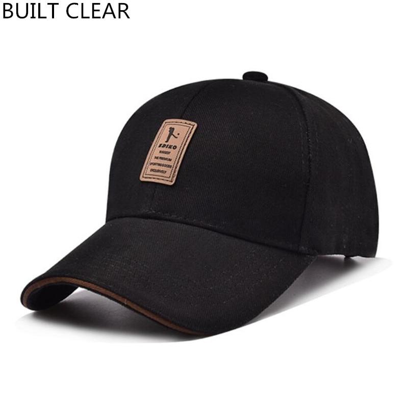 (BUILT CLEAR) branded baseball cap for men Bone Snapback hat for a baseball cap golf cap man sport cap For men; Free shipping велотренажер sport elit se 800p