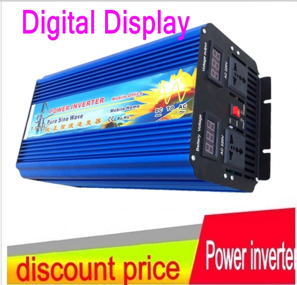 10000W Peak 5000W Pure Sine Wave Inverter 12v 24v 48v dc to 220v ac 220v-240v ac Peak power 10000W 5000w pura sinus inverter