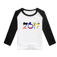 2017 raglan black t shirts top baby children full shirts high quality tee shirts