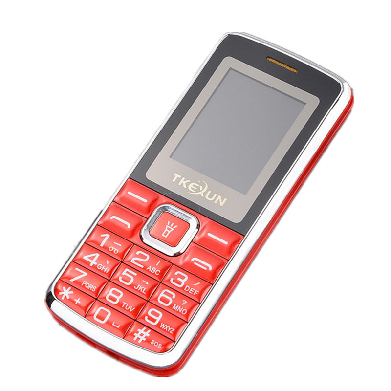 Original TKEXUN C1 Phone Dual SIM Card Flashlight MP3 MP4 1 8 inch Mini Cheap Phone