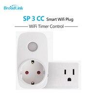 2017 Broadlink SP3 SP CC Smart Home 16A Timer EU US Wifi Power Socket Plug Outlet
