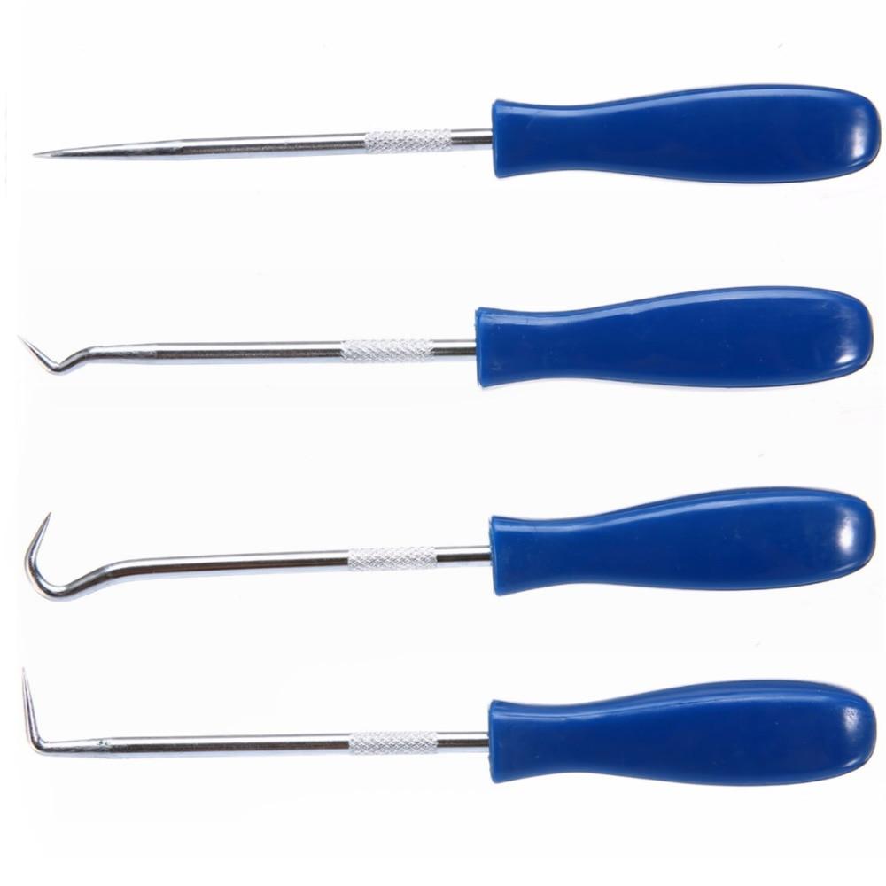 4Pack Car Pick /& Hooks Set O Ring Oil Seal Gasket Puller Remover Craft Hand Tool