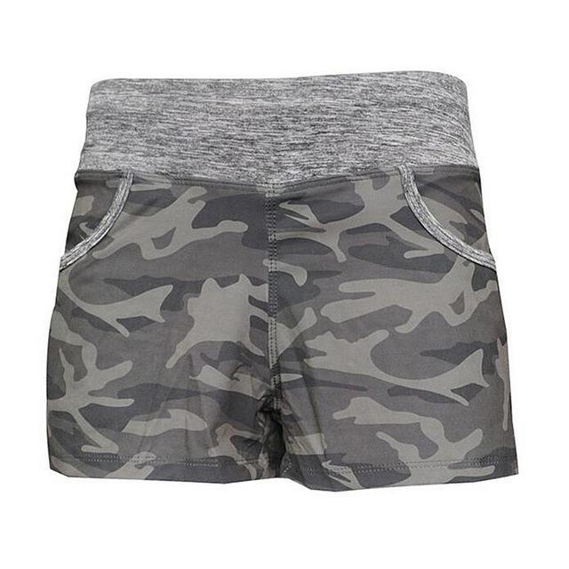 c440a323f93ef Women Camouflage Sports Yoga Shorts Sexy Training And Crossfit Safety Short  Pants Athletic Training Running Compression Shorts