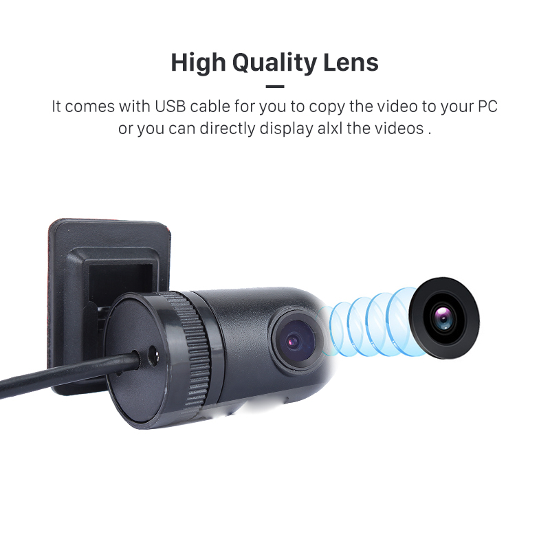 HD 720P USB DVR front Camera Recording video Supporting Android Car Radio DVD