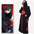 Hot  Naruto Cosplay Costume Naruto Akatsuki Uchiha Itachi Cosplay Cloak Hooded Plus Size Halloween Christmas Party Costume Cape