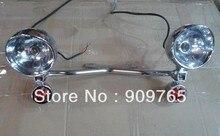 Envío Gratis 1 Unidades Ámbar Conducción Turn Signal Lamp Paso Proyector Barra de luces Para Kawasaki Vulcan VN 750 800 900 1600 1700