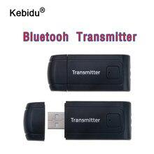 Kebidu Bluetooth V4 Zender Draadloze A2DP 3.5Mm Stereo Audio Music Adapter Dongle Audio Ontvanger Voor Pc Tv Hoofdtelefoon