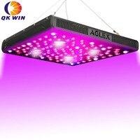 Qkwin высокого класса COB серии AGlex COB led светать для роста 2000 Вт Bridgelux чип COB 410 Вт истинная мощность двойной объектив для высокого номинального зн