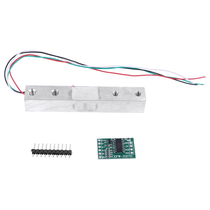 New Load Cell 10kg Weight Sensor Electronic Kitchen Scale + HX711 AD Weighing Module For Arduino Qiang