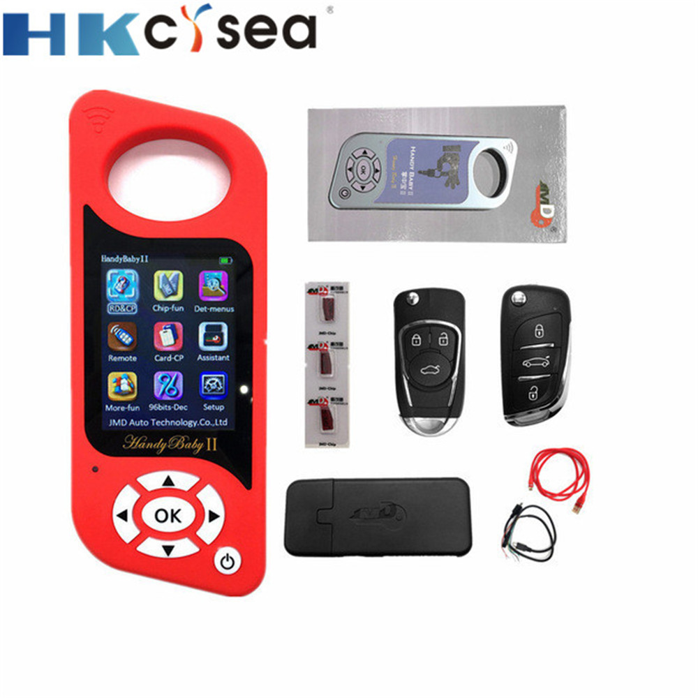 HKCYSEA JMD Handy Baby 2 Handy Baby II Auto Key Tool Chips Programmer Handy Baby2 Portuguese