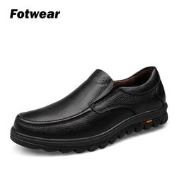 Fotwear Men' Genuine Leather shoes Casual shoes Perfect for office wear and casual occasions Premium leather laces Luxurious
