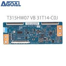 Carte mère dorigine T315HW07 VB CTRL BD 31T14 C0J COJ pour LED carte contrôleur TV t con tcon carte convertisseur de contrôle