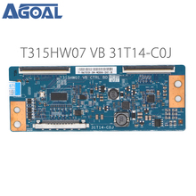 Original Logic Board T315HW07 VB CTRL BD 31T14 C0J COJ For LED TV Controller Board T con tcon Control Converter Board