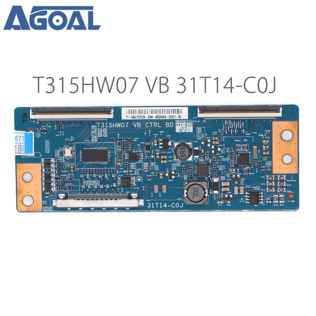 Original Logic Board T315HW07 VB CTRL BD 31T14 C0J COJ For LED TV Controller Board T con tcon Control Converter Board