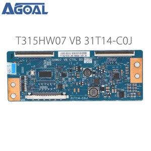 Image 1 - Originele Logic Board T315HW07 Vb Ctrl Bd 31T14 C0J Coj Voor Led Tv Controller Board T Con Tcon Controle Converter board