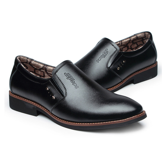 Leather Office Dress Shoes 6