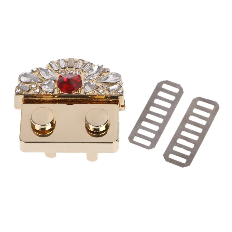 Metal Fashion Clasp Turn Twist Lock For DIY Handbag Craft Bag Purse Hardware Accessories