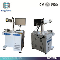 High Steady Air Cooling EZCAD Software Metal Laser Marking Machine
