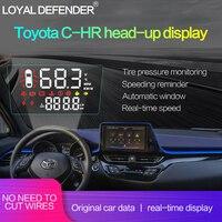 Горячая Распродажа! Специальный Автомобиль HUD Дисплей для Toyota CHR левым