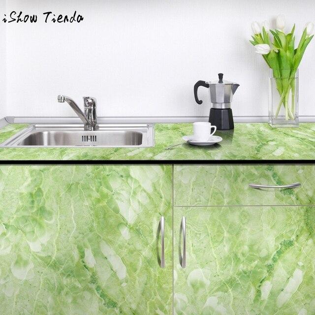 Wallpaper Marble Contact Paper Self Adhesive Glossy Worktop Peel Sticker  Roll Cabinet Floor Wall Bedroom Living