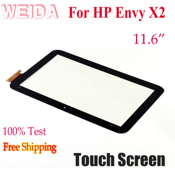 WEIDA Touch Digitizer For HP Envy X2 Touch Screen Digitizer Lens Replacement 11.6 touch screen digitizer replacement for honeywell dolphin 99gx
