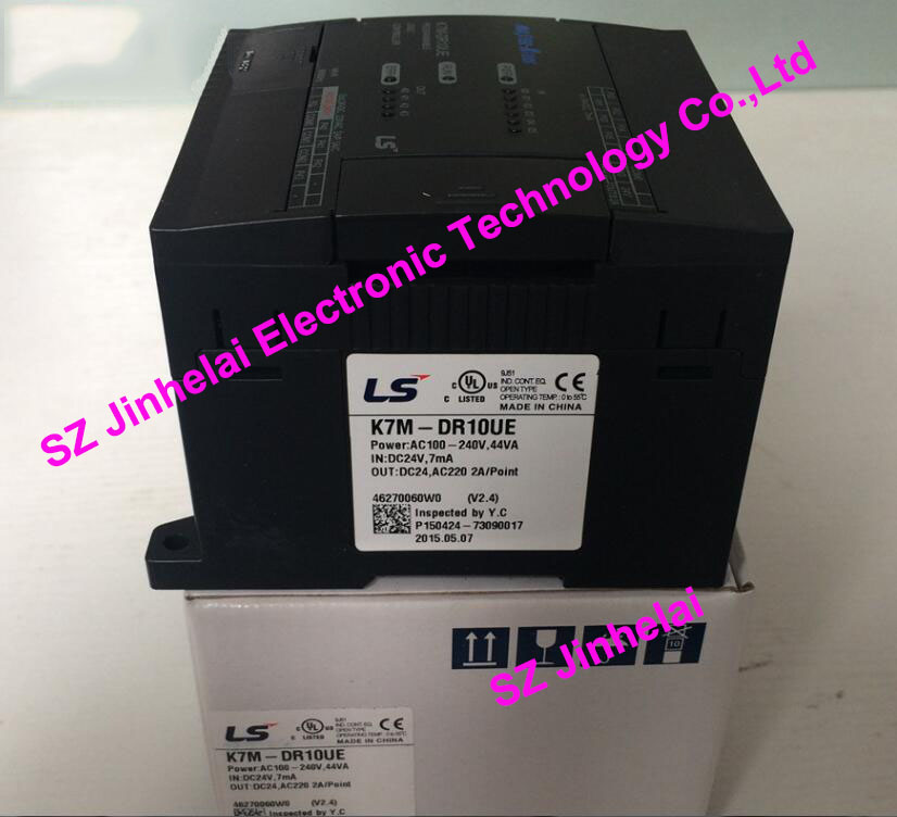 100% New and original  K7M-DR10UE   LS(LG)  PLC 100% new and original g6i d22a ls lg plc input module