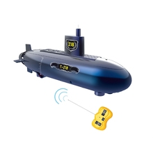 Funny RC Mini Submarine 6 Channels Remote Control Under Water Ship Rc Boat Model Kids Educational Stem Toy Gift for Children
