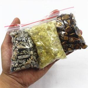 100 г дегаузсинг каменные минералы аквариум с натуральными кристаллами гравия камни декоративный камень