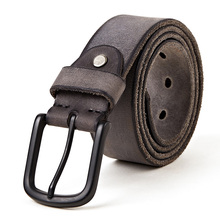 2017 new Luxury belt men leather belt men black buckle jean strap for male genuine leather multi color thong    22mm 24mm silicone rubber watch band for panerai luminor radiomir stainless carved pre v buckle strap wrist belt bracelet black