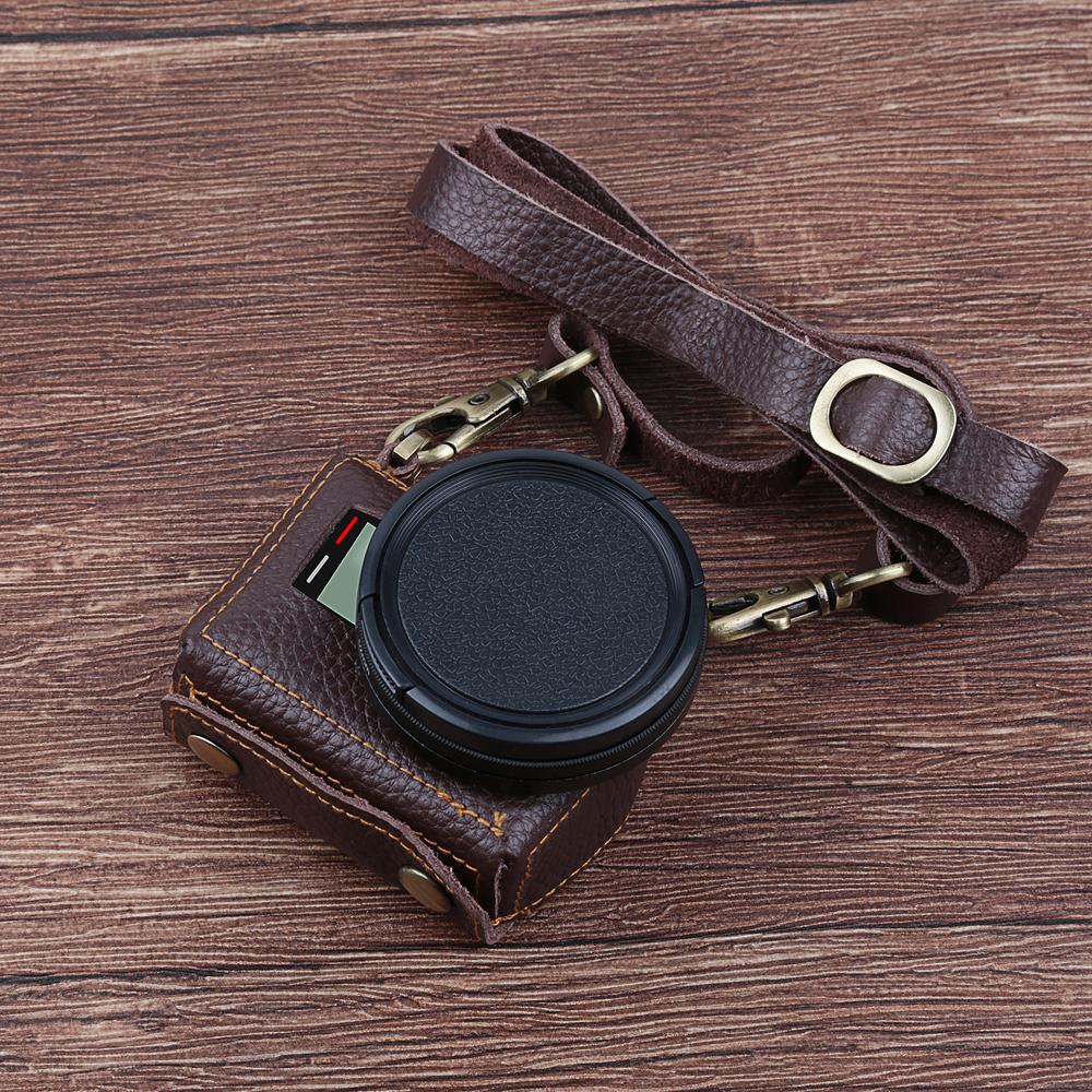 Prix pour SHOOT Clip-Sur Étui En Cuir De Protection pour GoPro Hero 5 D'action Caméra avec 52mm UV Filtre Lens Cover Kits GoPro Hero 5 Accessoire