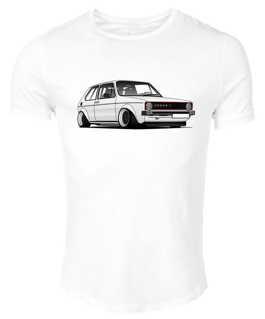 fd4d46e11e Germany Classic Legend Car Golf Mk1 Round Neck Straight Cut New 2018 Spring  Summer Autumn O Neck Short Sleeves Muscle T Shirts