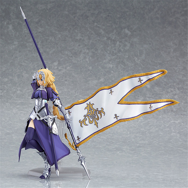 Anime Fate Grand Order Jeanne d'Arc Ruler Figma 366 PVC Action Figure Collection Model Kids Toys Doll 5.5 4