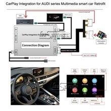 Мультимедиа смарт автомобиля модернизации CarPlay для AUDI A4/A3/A5/S5  Q2  Q5/Q5, 7/8. 4-дюймовый экран 2017-2018, MIB2 системы