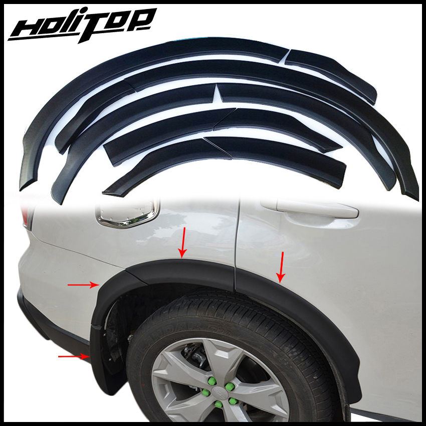 newest for Subaru Forester wheel arch,fender Flares,wheel cover,frame,exterior wheel protector.ABS plastic.free shipping to Asia
