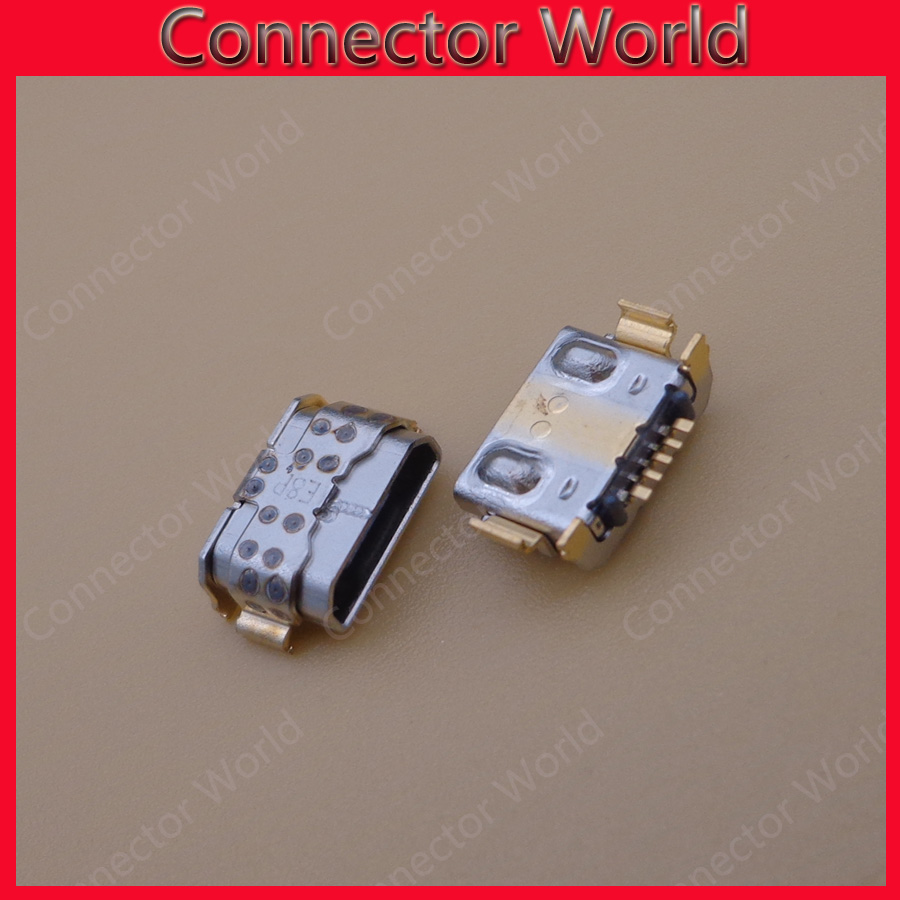 100pcs For LG K9 X210 LM-X210EM LMX210EM Charging Port Connector Micro USB Connector Jack Micro USB Socket Charger