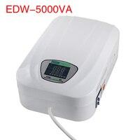 Edw 5000VA ac voltage stabilizer 220v automatic single phase home regulator
