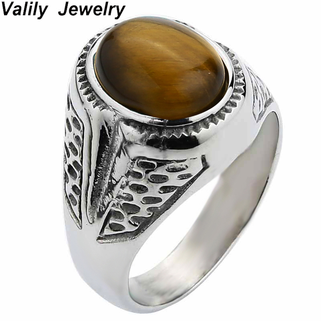 shopping guides gemstone mens ring eye deals get silver on tiger quotations find cheap rings line at band design sterling swirl