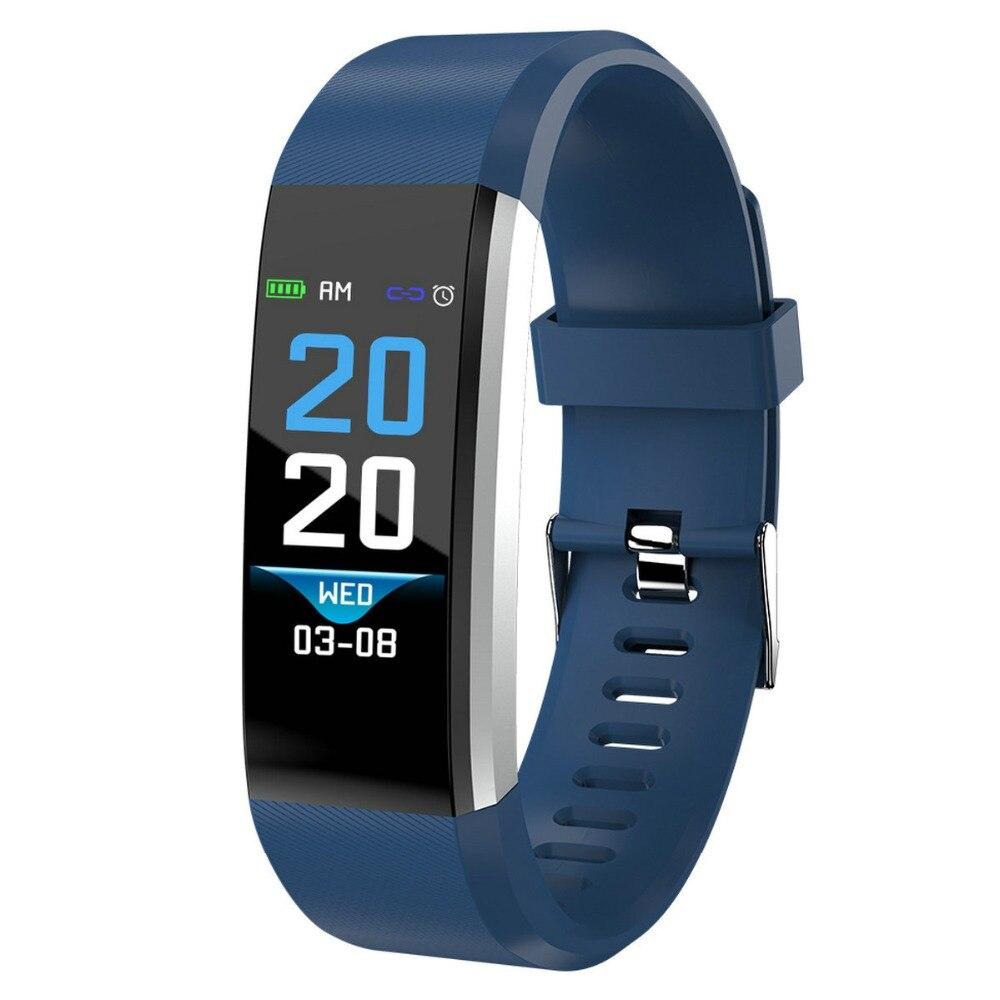 HAIOM Sport Smart Bracelet Watch blood pressure heart rate sleep monitor blood oxygen pedometer Waterproof Clock for IOS Android