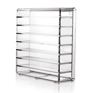 Image 4 - Cosmetics receive a box of pressed powder eye shadow boxes makeup air cushion lipstick receive rack drawer space